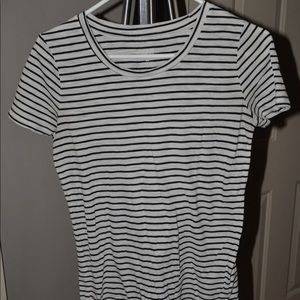 Size M striped tee